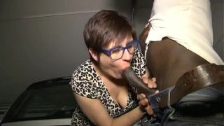 Lise A French Mature And 2 Black Cocks  – anal