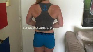 Muscular Women – Jessika Flexing Part2 Video2