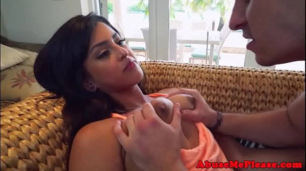Roughfucked arab babe gets dominated