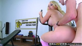 Brazzers – Big Tits In Sports – Kagney Linn Karter and Danny D – Post Match Pussy Part One