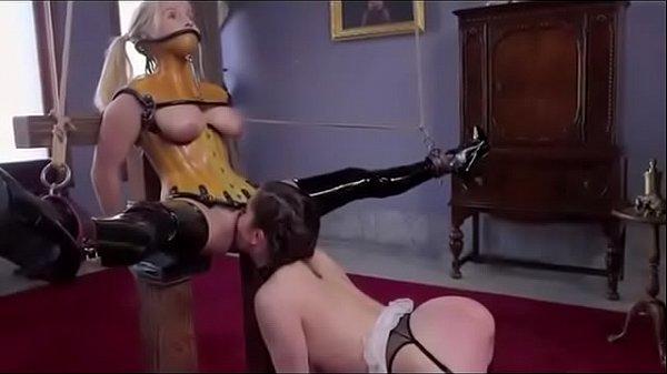 BDSM hardcore trio