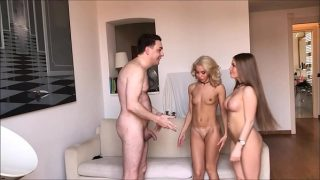 Two Goddesses (Alessandra Jane and Lana Sins) BALLBUSTING Andrea Dipre