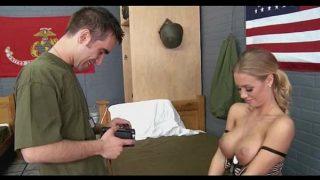 Beautiful Nicole Aniston military fuck