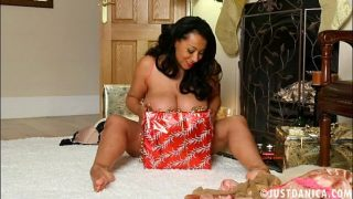Danica Collins (Donna Ambrose) Plays With Herself On Christmas
