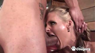 Phoenix Marie Deep Throats The Bartenders Cock